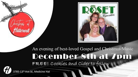 Christmas at Hillcrest - Concert with the Rosets and friends