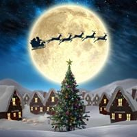 Christmas FULL MOON  SUPER MOON Meditation