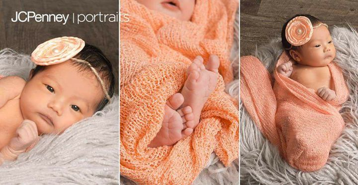 Newborn baby event at jcpenney portraits 50 gift included