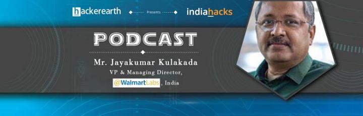 Online Commerce Podcast with Mr  Jayakumar Kulakada, VP and