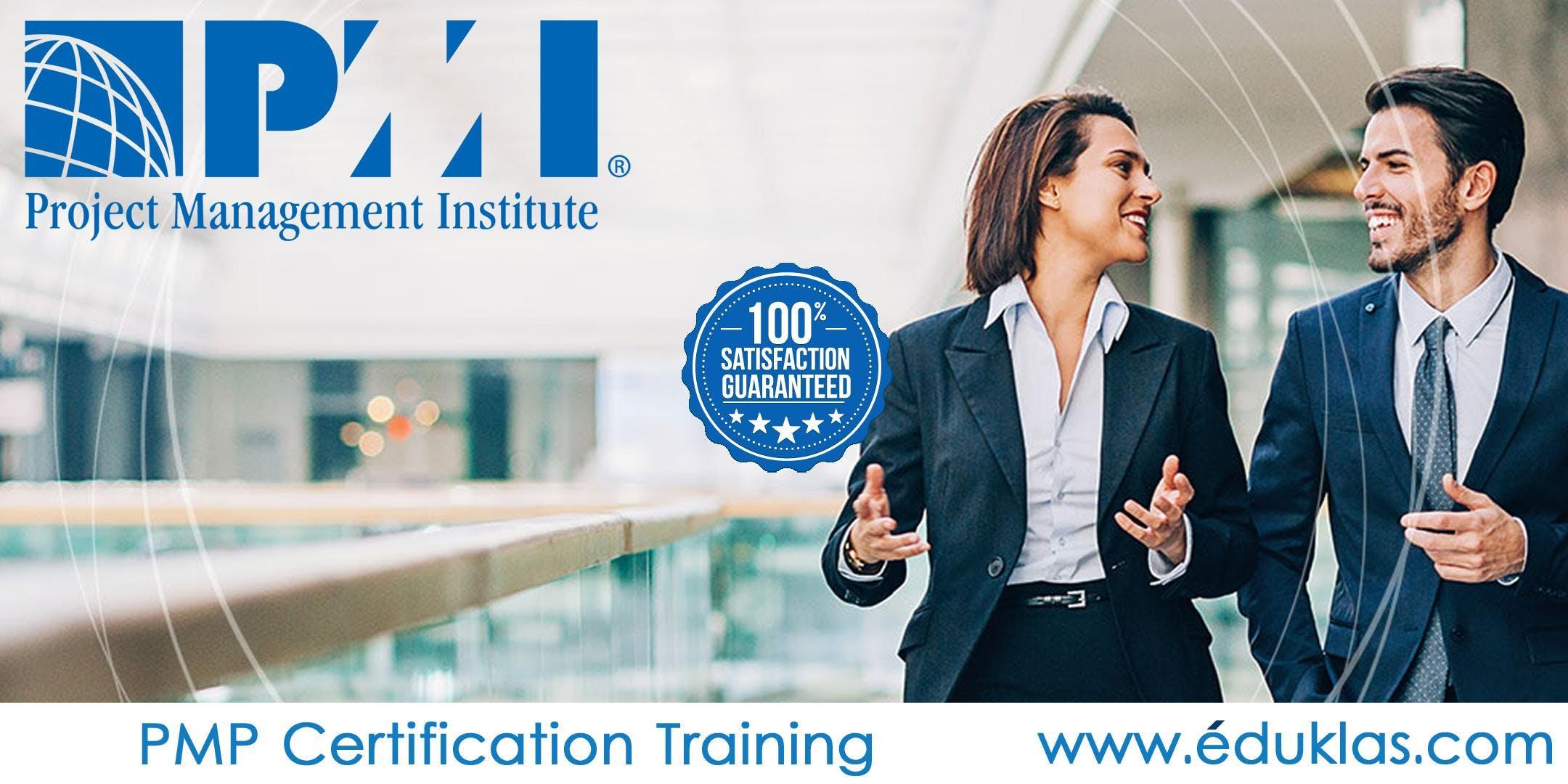 PMI - PMP Certification Training Course in TempeAZEduklas