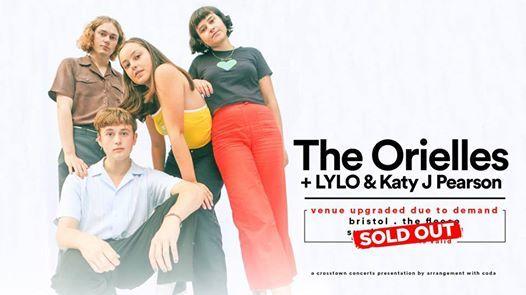 SOLD OUT The Orielles  LYLO & Katy J Pearson  The Fleece