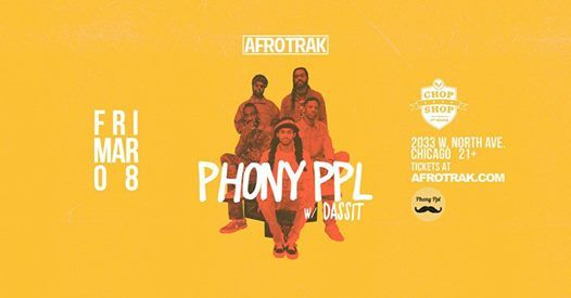 Afrotrak Presents Phony Ppl w Dassit