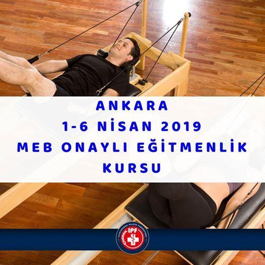 Ankara MEB Onayl Eitmenlik Kursu 1-6 Nisan 2019