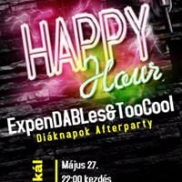 ExpenDABles &amp TooCool Diknapok Afterparty
