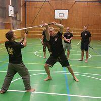 Dlouh me  Long sword  Semestrln vuka Educational program