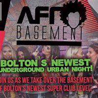 Afro Basement at Level Bolton Bank Holiday Friday