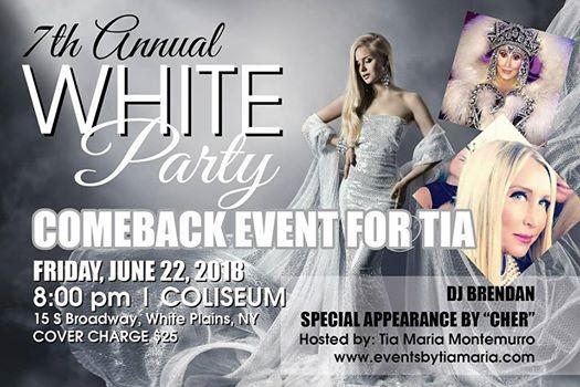 7th Annual White Party - Comeback Event For Tia