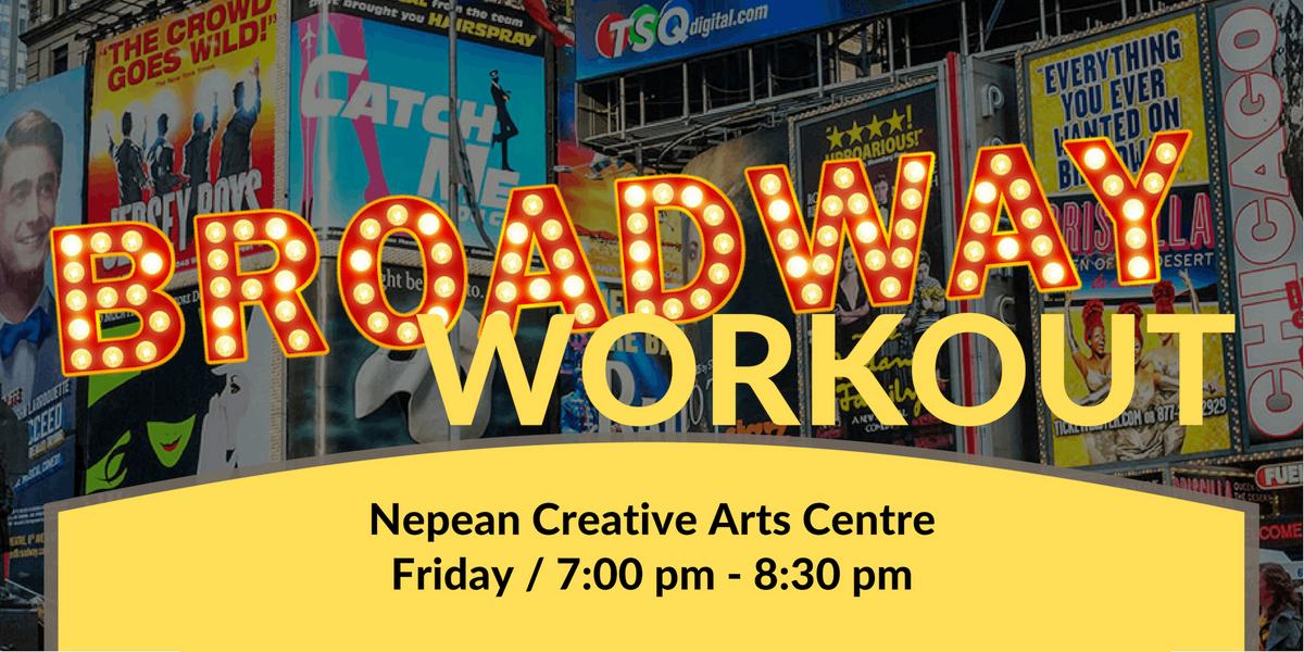Broadway Workout - NCAC February 22