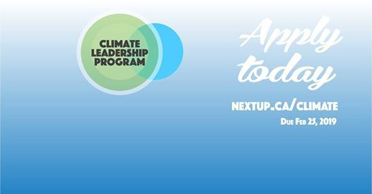 Apply to the Climate Leadership Program