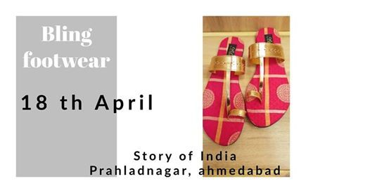 Bling Footwear - Story Of India