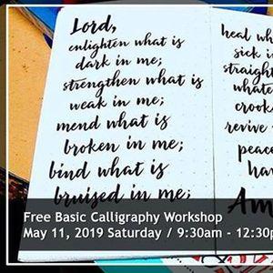Basic Brush Pen Calligraphy Workshop