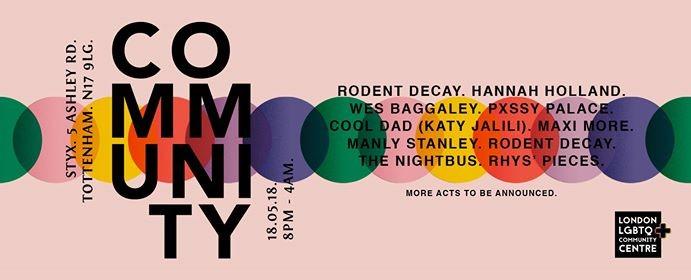 C O M M U N I T Y ft Hannah Holland Pxssy Palace & Wes Bagaley