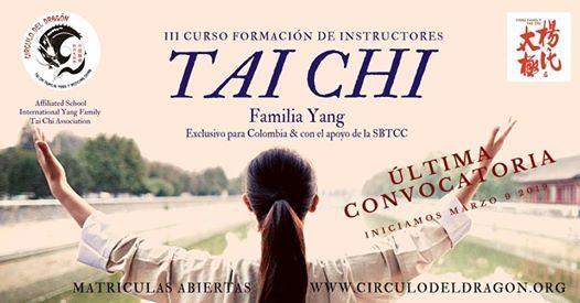 Curso de Formacin de Instructores Tai Chi Familia Yang