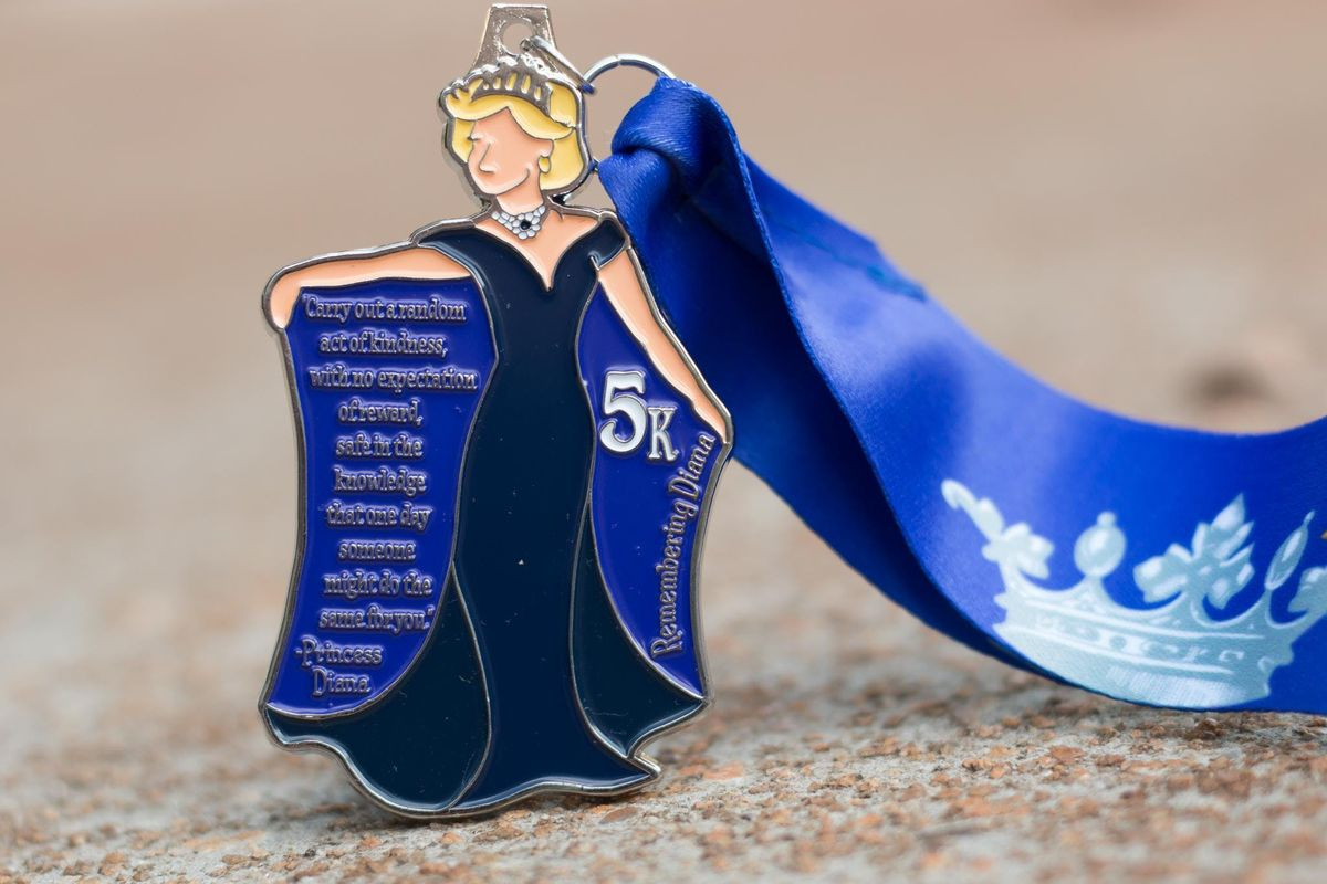 Now Only 8.00 Make a Difference Day 5K- Remembering Princess Diana- Cincinnati