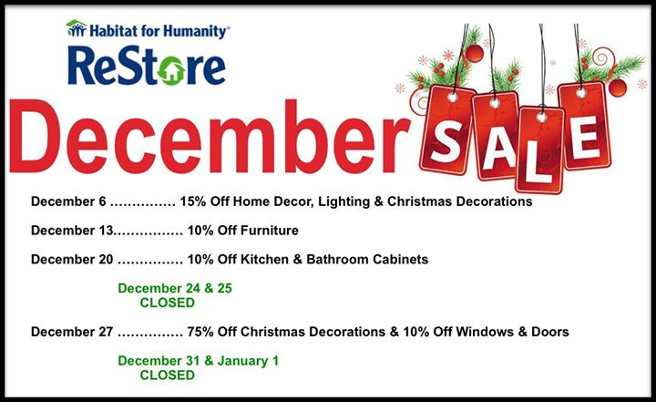 75 off christmas decorations and more at ann arbor habitat re store ann arbor - 75 Off Christmas Decorations
