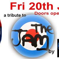 Leigh Rock - The Jam Tribute Night with The Jam Project 20 July