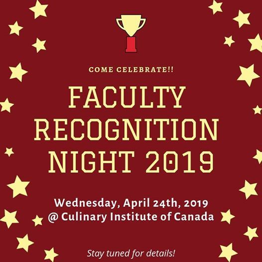 Faculty Recognition Night 2019