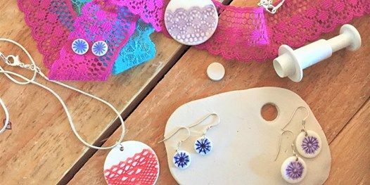 Porcelain jewellery workshop at the Cosy Cafe BS16