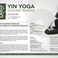 Yin Yoga Teacher Training (Meridian)