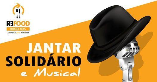 Jantar Solidrio e Musical