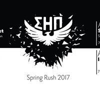 Sigma Eta Pi Spring Rush 2017