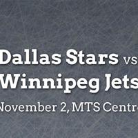 Dallas Stars vs. Winnipeg Jets