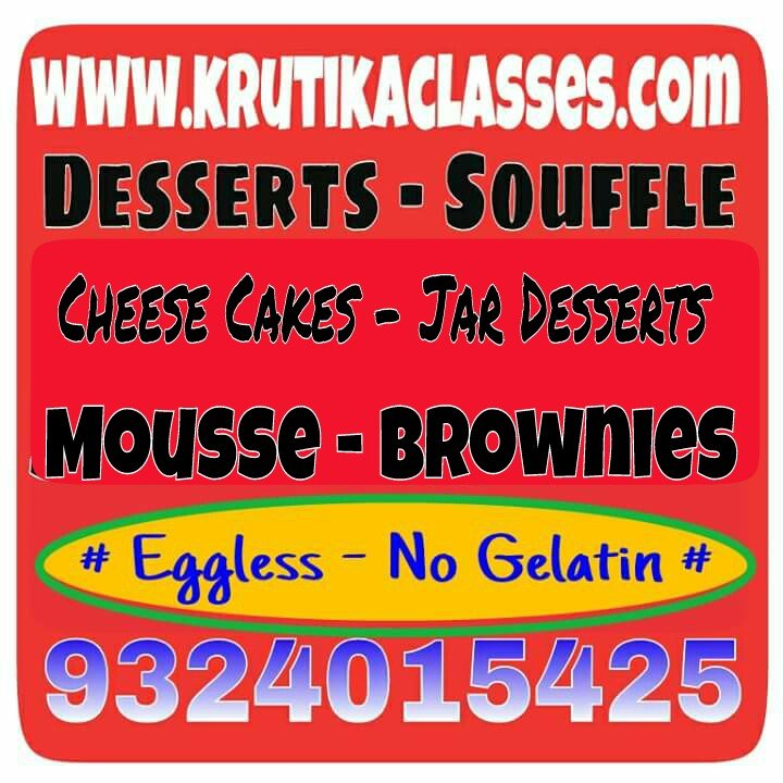 Cake Making Classes In Dombivli : Learn Jar Desserts- Brownie- Cheese Cake & More at ...