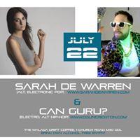 Sarah de Warren &amp Can Guru Live