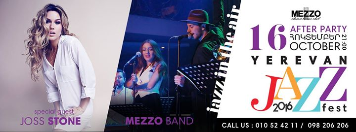 After party yerevan jazz fest 2016 at mezzo classic for Mezzo classic house yerevan
