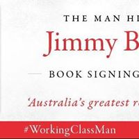 JImmy Barnes at Collins Booksellers Orange