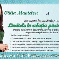 Conferinta Otilia Manteleres - Limitele in relatia parinte-copil