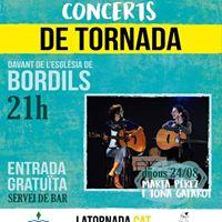 Marta Perez i Tona Gafarot. Concerts de Tornada a Bordils