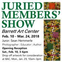 Barrett Art Center Juried Members Show