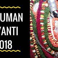 Hanuman Jayanti 31-03-2018 (Saturday)