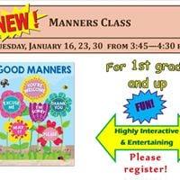 Manners Class
