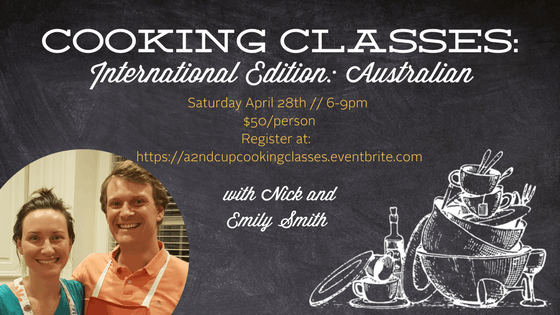 Cooking Classes International Edition