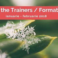 Train the Trainers  Formator ianuarie - februarie 2018