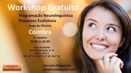 Workshop Gratuito Programao Neurolingustica