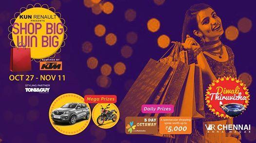 Shop Big Win Big at VR Chennai