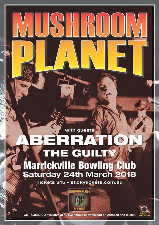 Mushroom Planet  Aberration dual album launch with The Guilty
