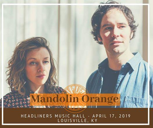 Sold Out- Mandolin Orange with Charlie Parr