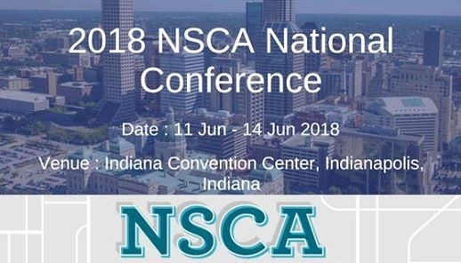 NSCA National Conference 2018 at Indiana Convention Center