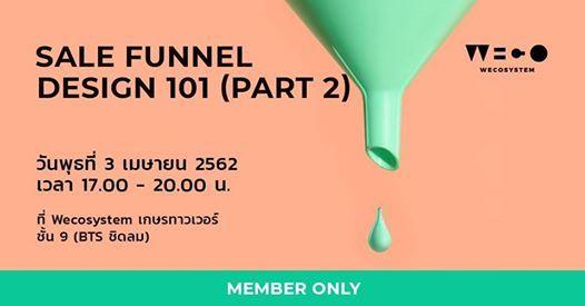 Member (Starter)  Sale Funnel Design 101 - Part 2