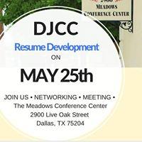 DJCC Resume Development Workshop