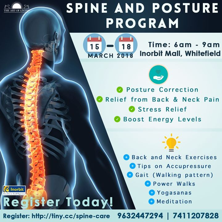 Spine Care & Posture Program