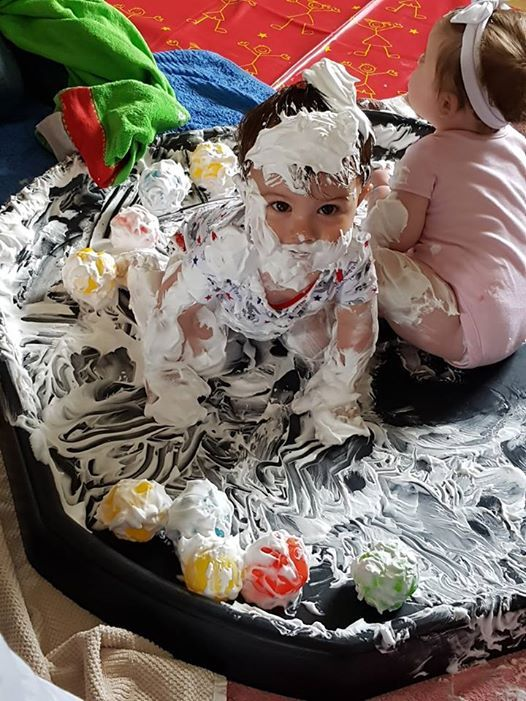 Messy Splatters Session Ages 6mth - 5yrs with Doodle & Splat