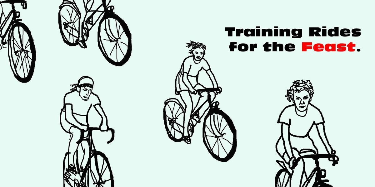 Training Rides for the Feast Ride 1