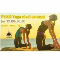 PYA3-Yoga avansati cu Dana upa