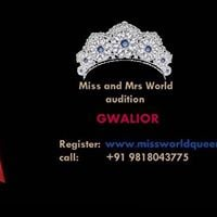 Miss and Mrs Gwalior Madhya Pradesh India World Queen &amp Mr India